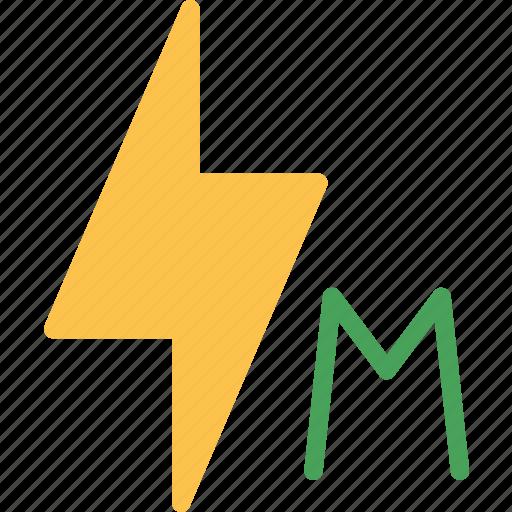 effect, flash, lightmanual icon