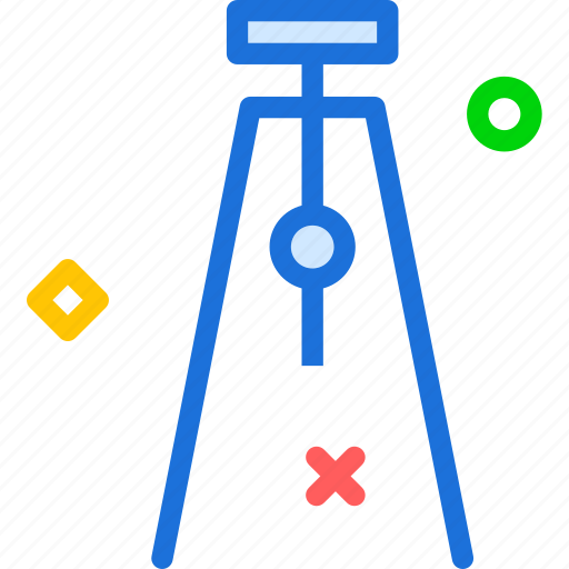 camera, device, photography, photoshoot, support, tripod icon