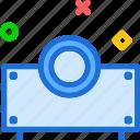 closeup, decrease, edit, focus, increase, projectorlens, zoom icon