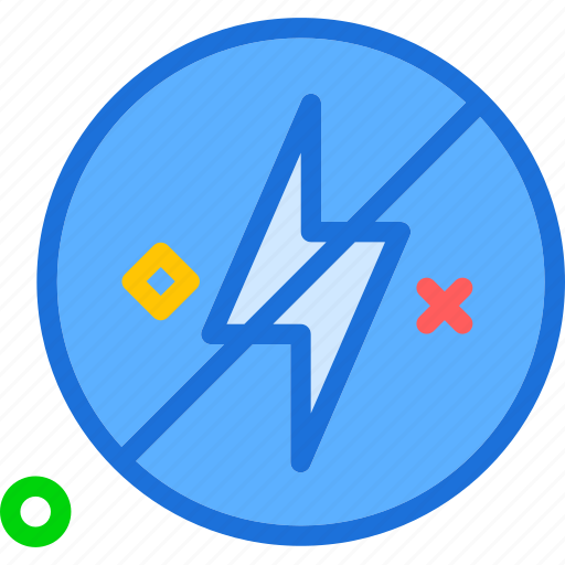 effect, lightcircle, noflash icon