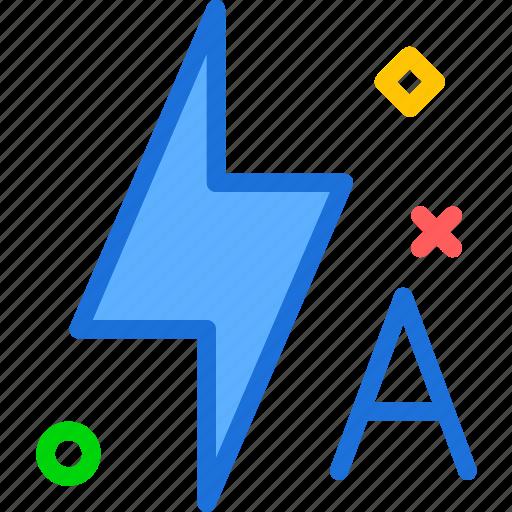 effect, flash, lightauto icon