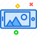 camera, device, phone, photography, photoshoot icon