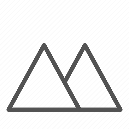landscape, mountain, photo, picture icon