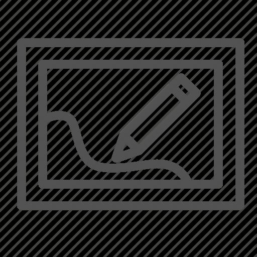 edit, pen, photo, picture, tool icon
