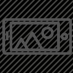 camera, device, phone, photo, picture, smart icon