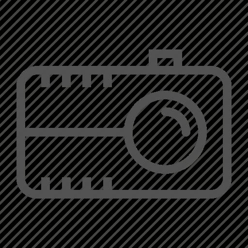 camera, old, video, vintage icon