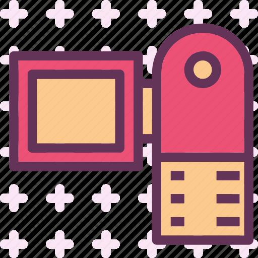 backview, camera, device, photography, photoshoot icon