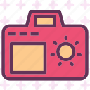 brightness, camera, day, device, effect, light, photography icon