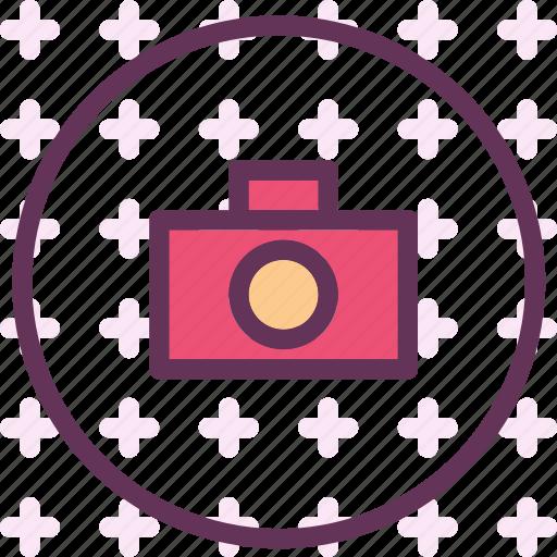 camera, circle, device, photography, photoshoot icon