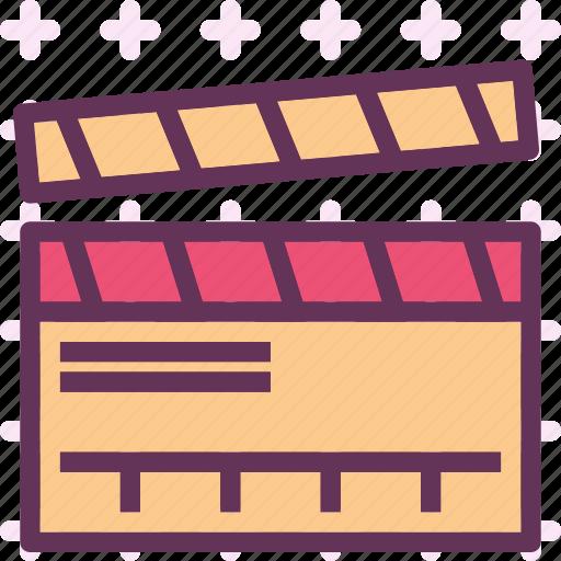 clip, cut, film, movie, video icon
