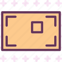 decrease, edit, focus, increase, point, singlefocus, zoom icon