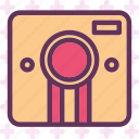 camera, device, photography, photoshoot, vintage icon