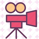 camera, clip, device, film, movie, photography, video icon