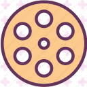 clip, film, negativemovie, video icon