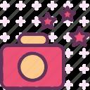 camera, device, photography, photoshoot, stars