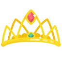 crown, hat, lady, layer, photo, princess, queen icon