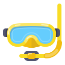 diving, hat, layer, mask, photo, swim, swimming icon