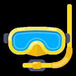 diving, hat, layer, mask, photo, swim, swimming icon
