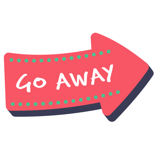 Arrow, away, direction, go, layer, photo, word icon - Free download
