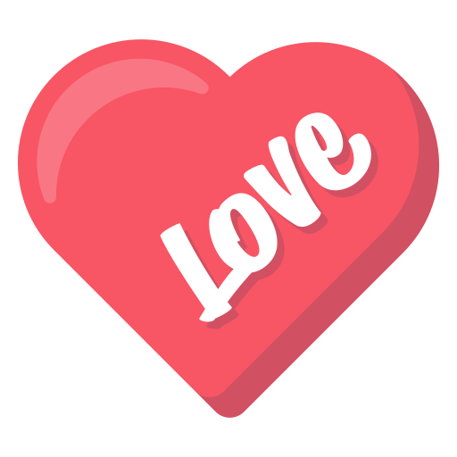 heart, layer, love, photo, sticker, word icon
