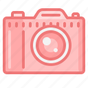 camera, divece, lens, photo, photography, slr camera icon