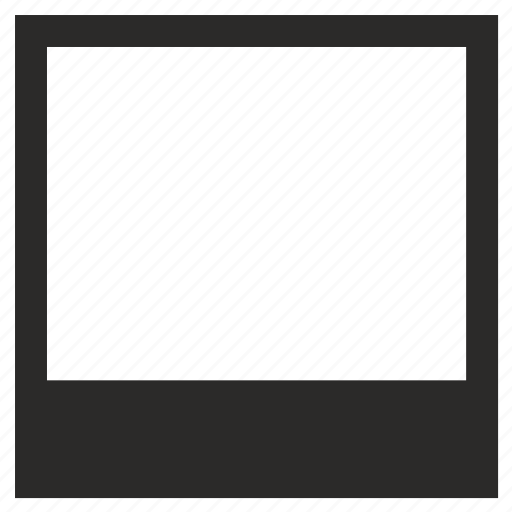 empty, image, photo, picture, polaroid, shot icon