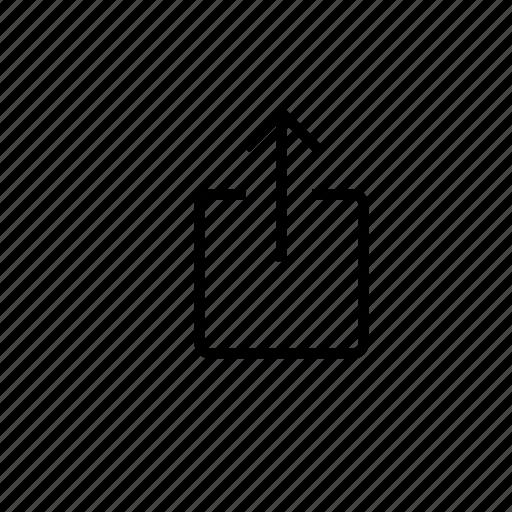 send, share icon