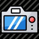 camera, digital camera, instant photo, instant photo camera, photography, video camera icon