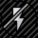 camera tool, deactivated flash, flash off, no brightness, no flash, photography icon