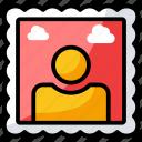 figure, image, painting, photo, picture, portrait icon