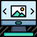 monitor, laptop, display, computer, screen