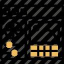 color, checker, calibrator, editing, software icon