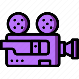 camera, movie, photography, record, video icon