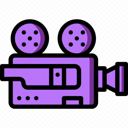 Camera, movie, photography, record, video icon - Download on Iconfinder
