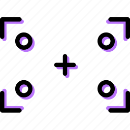 focus, photography, record, sign, video icon