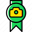 award, photography, record, video icon