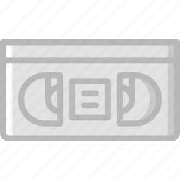 photography, record, tape, video icon