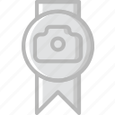 award, photography, record, video icon