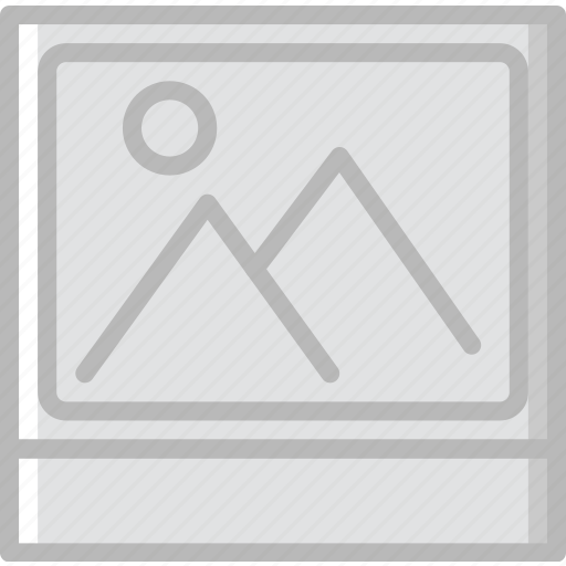 photography, polaroid, record, video icon