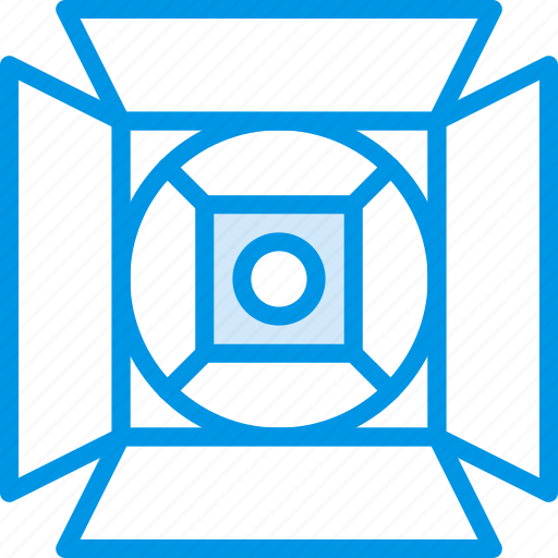 lights, photography, record, set, video icon