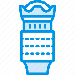 lens, photography, record, video icon