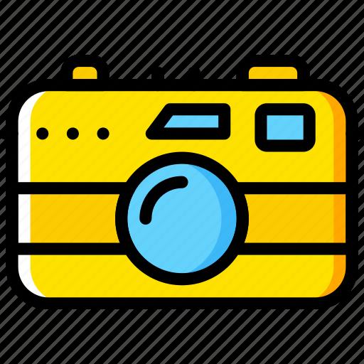 1, camera, photography, record, video icon