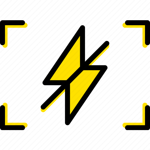 flash, off, photography, record, video icon