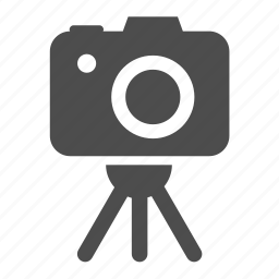 camera, lens, photo, photography, picture, stand, support icon