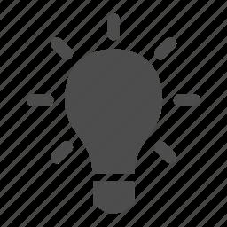 bulb, idea, light, photo, photography icon