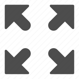 arrow, arrows, direction, directions, enlarge, photo, zoom icon