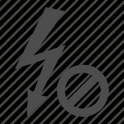 bolt, delete, electricity, flash, lightning, photo, without icon
