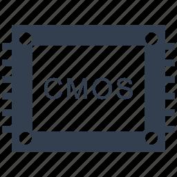 cmos, matrix, photography, professional, sensor icon