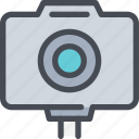 cam, camera, device, media, photography icon