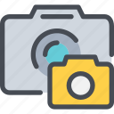 camera, device, media, photo, photography icon